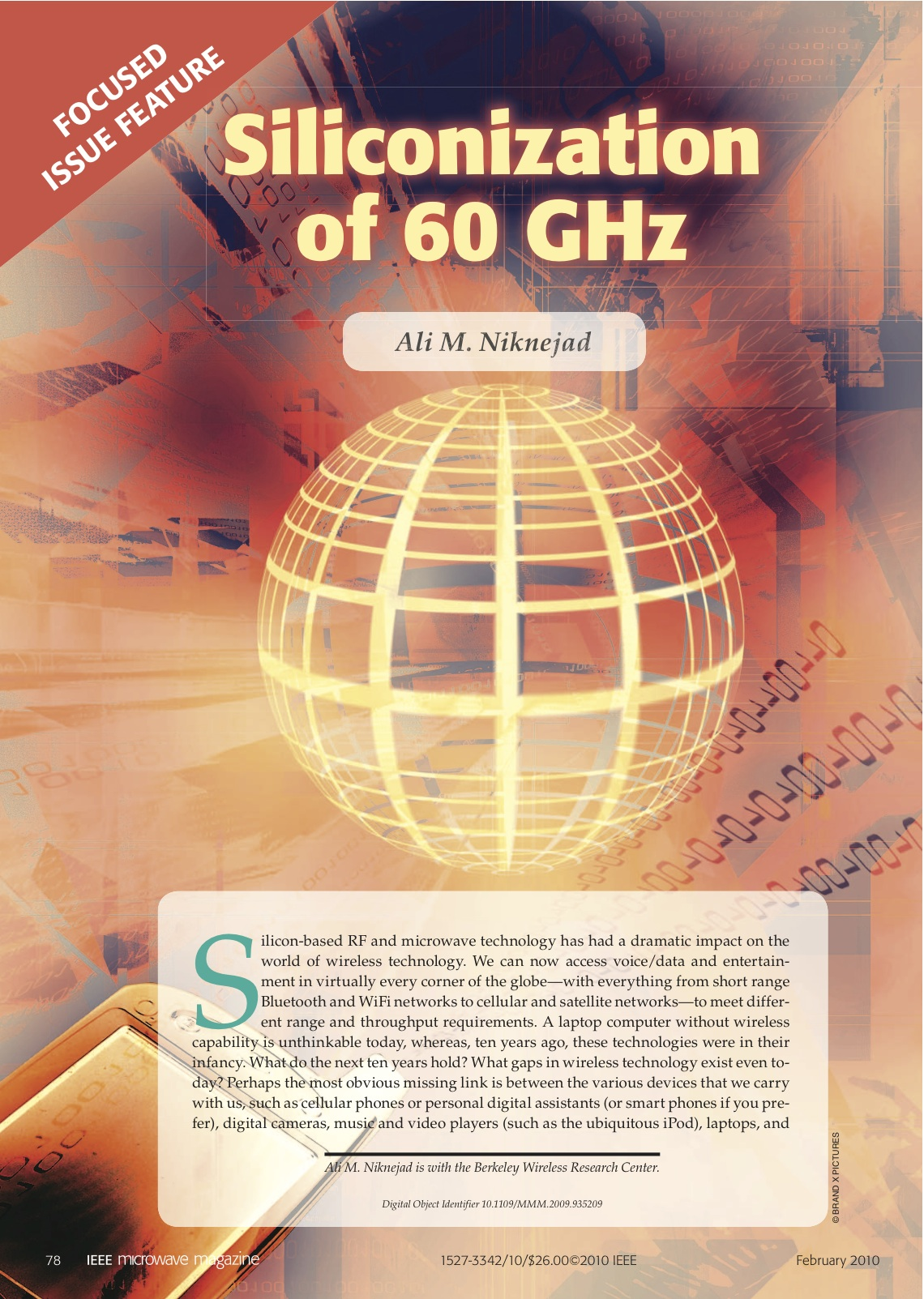 A Niknejad Inductors And Transformers Enabling The Gigahertz Silicon Ic Revolution Ieee Solid State Circuits Magazine Vol 6 No 1 Pp